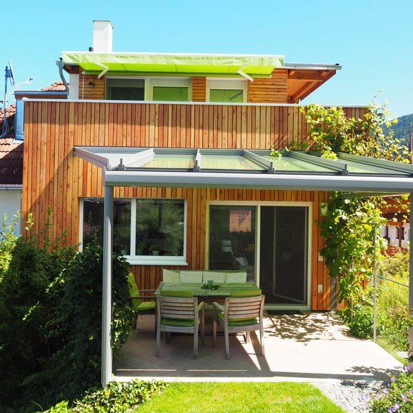 Baujahr: 2016 Ausführung: Terrassenüberdachung
